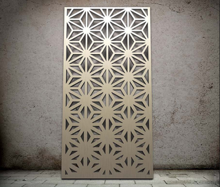 Laser Cut Panel Privacy Screen