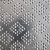Customized perforated metal plate