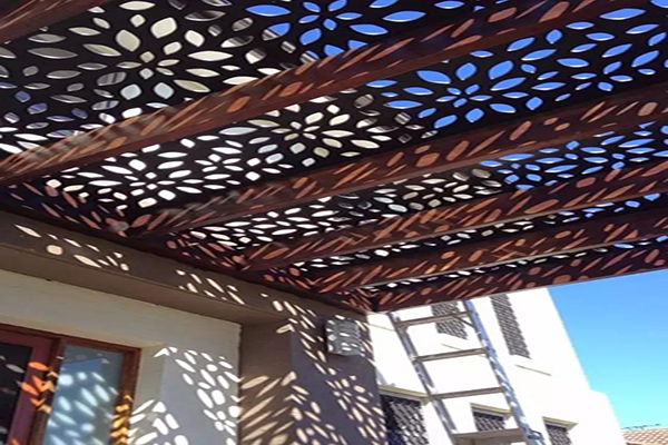 Laser Cut Panel for Room/ Balcony Divider