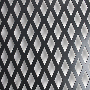 PVDF/Flurocarbon Perforated Metal Sheet