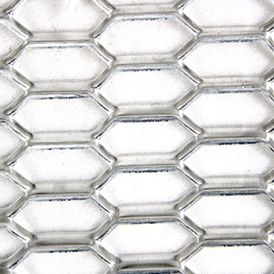 Aluminum Expanded Metal mesh for curtain wall