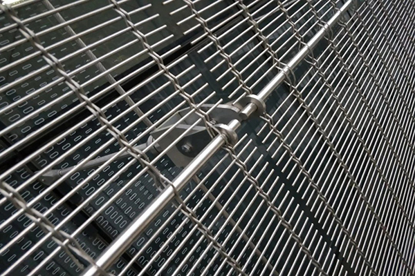 SS Wire Mesh for Architectural Facade Decoration