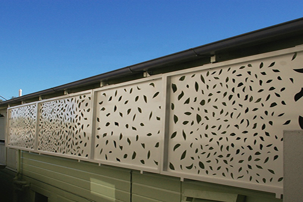 Aluminum Laser Cut Fencing Panel