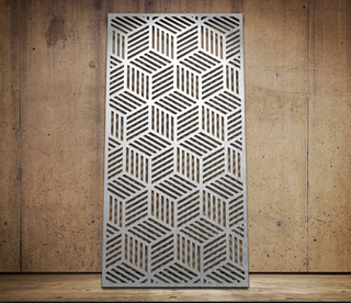 Decorative Laser Cut Metal Screen Partition