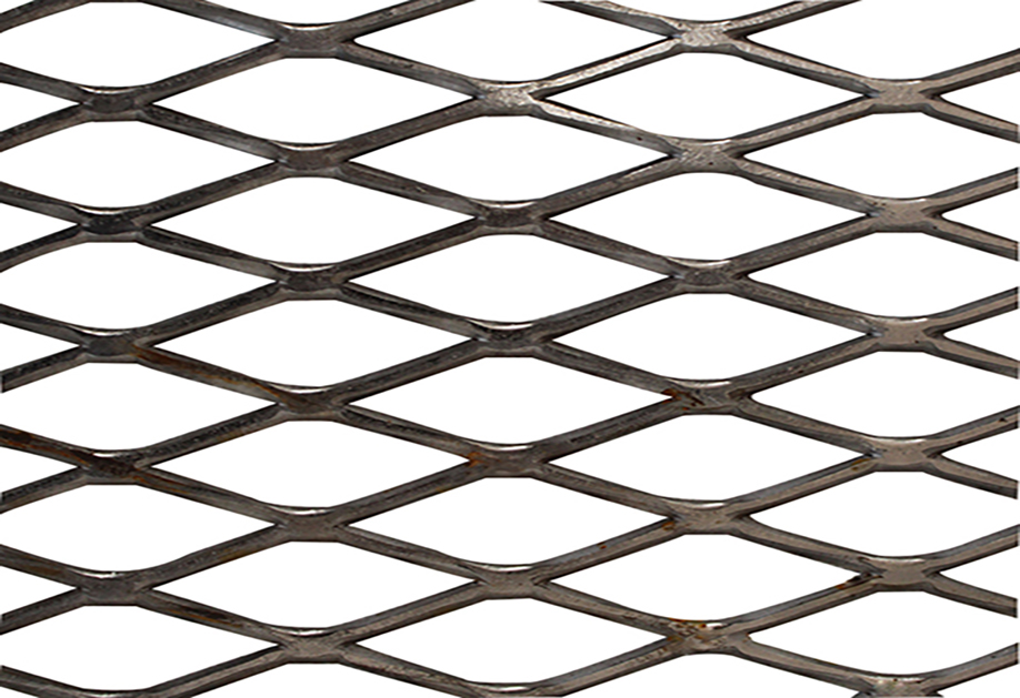 The aluminum expanded metal mesh