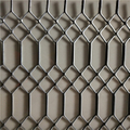 Fiji and Papua New Guinea Hot Selling Gothic Mesh With Hot Dipped Galvanized Surface Treatment
