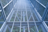 Heavy duty walkway expanded metal mesh for platforms
