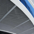 The advantages of aluminum expanded mesh ceiling