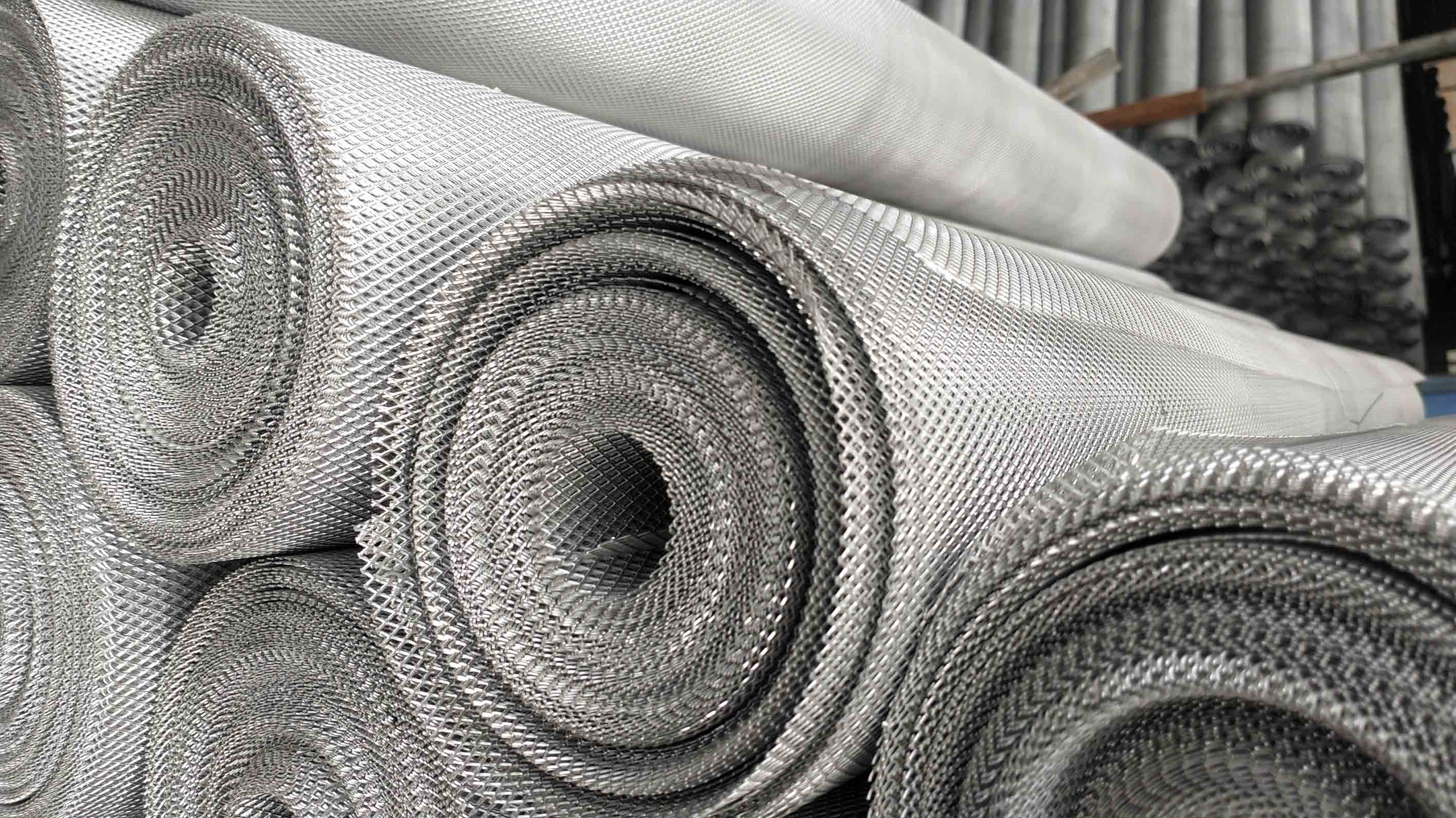 stainless steel expanded mesh with small hole