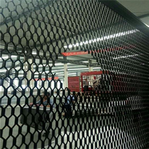 aluminum mesh with hole for light