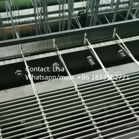 Stainless steel decorative cable wire mesh-producing